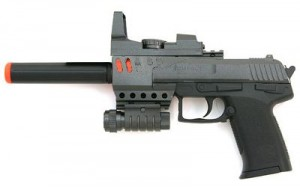 Spring KX011 Airsoft Gun Pistol
