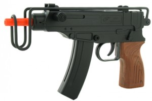 Black Skorpion Airsoft Machine Pistol